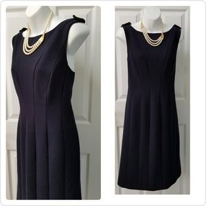 Tory Burch Women's Navy Sleeveless Dress